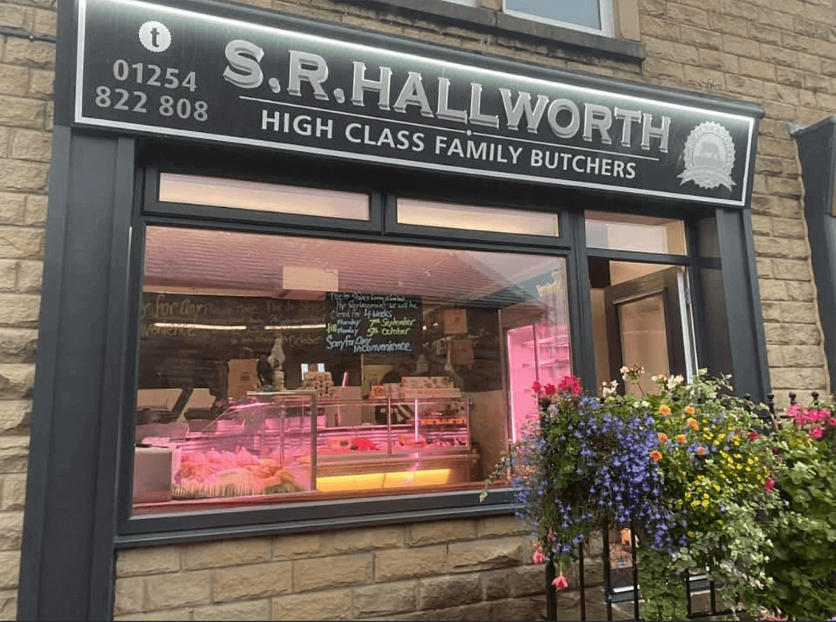 SR Hallworth - High Class Family Butchers